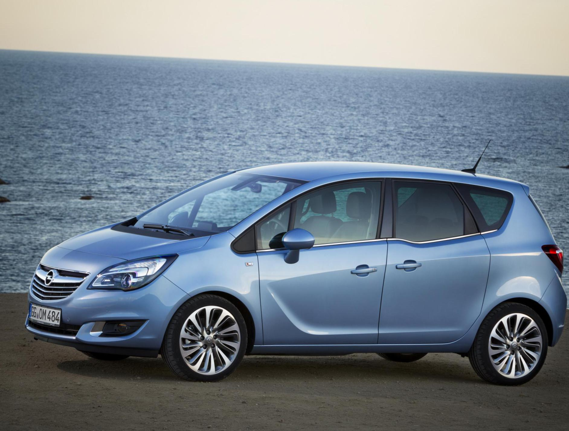 Meriva B Opel approved sedan