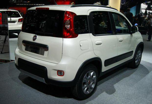 Panda 4x4 Fiat reviews 2011