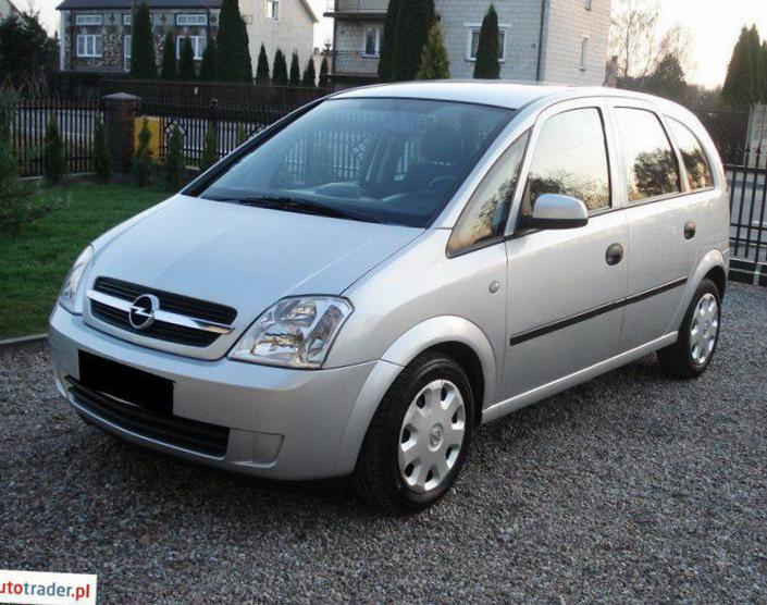 Meriva A Opel approved 2009
