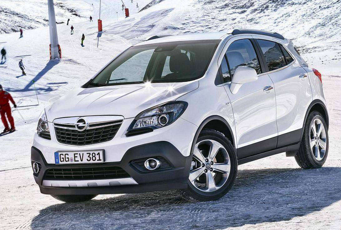 Mokka Opel parts 2009