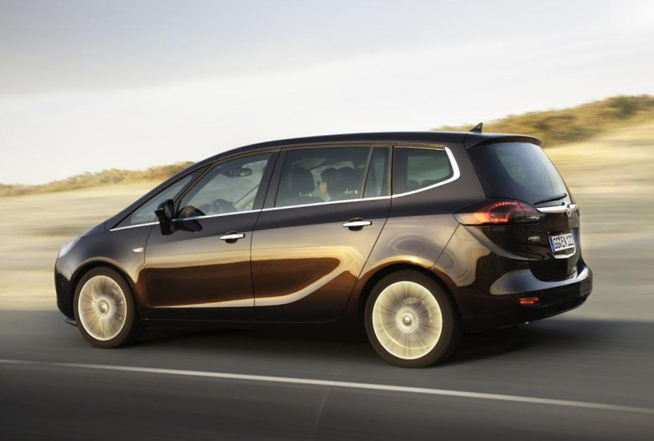 Zafira Tourer Opel approved 2011