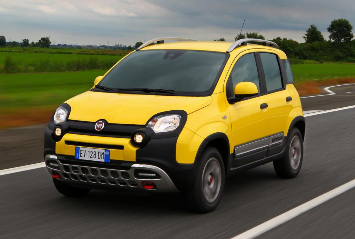 Fiat Panda Cross lease 2012