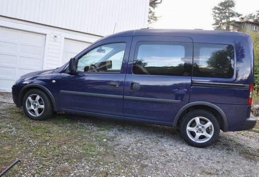 Opel Combo Tour parts 2014
