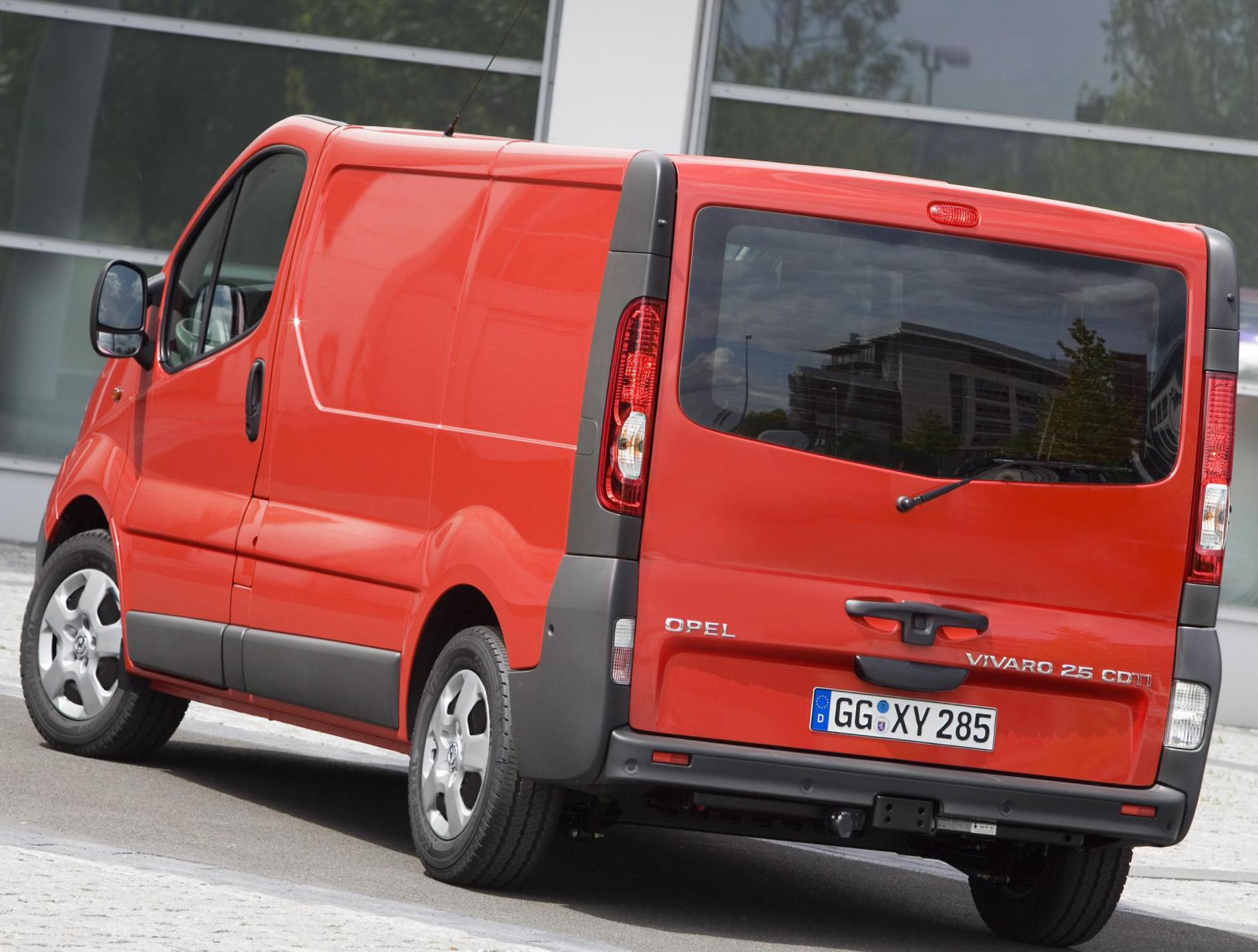 Betere Opel Vivaro Photos and Specs. Photo: Opel Vivaro tuning and 21 BL-75
