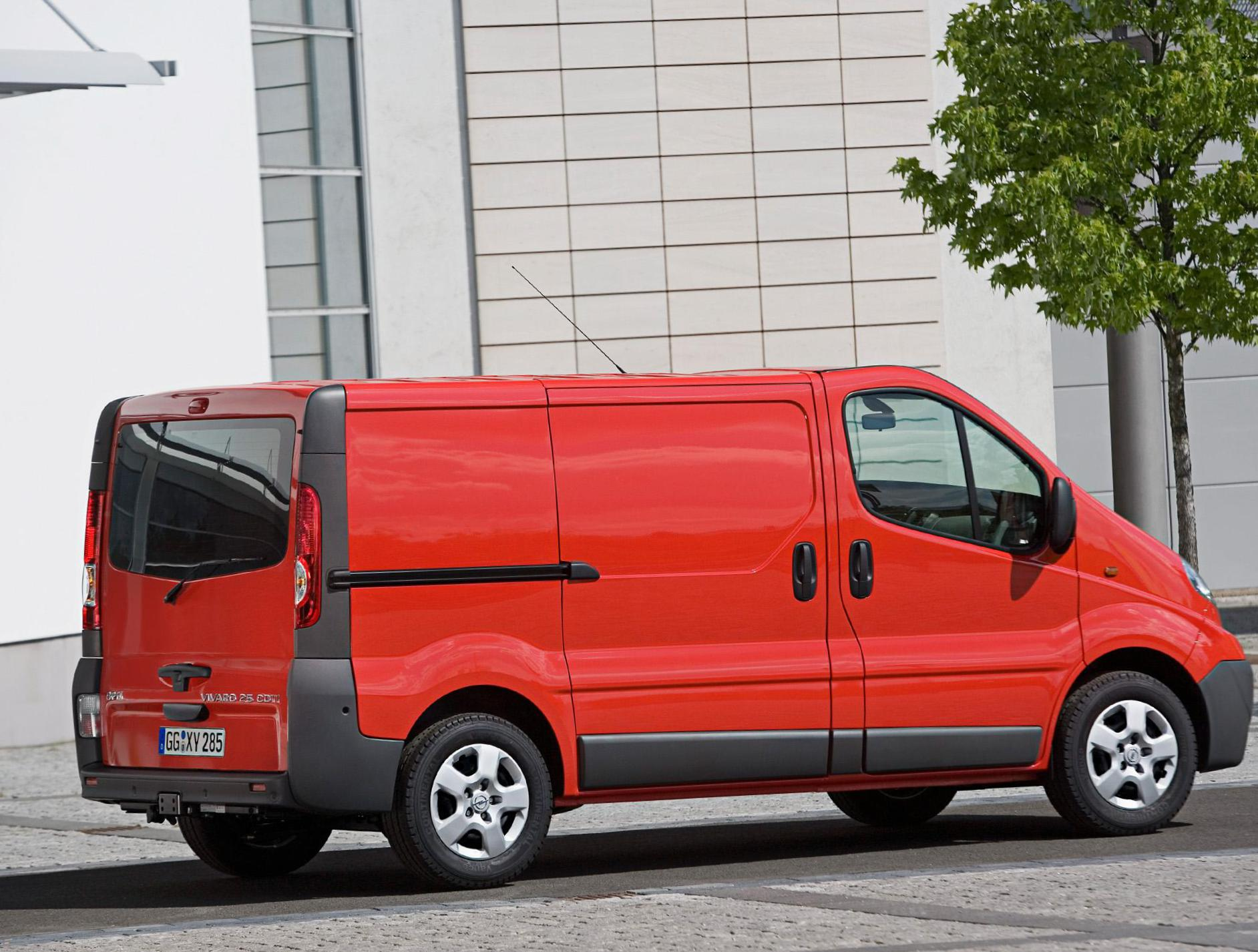 Vivaro Opel new liftback