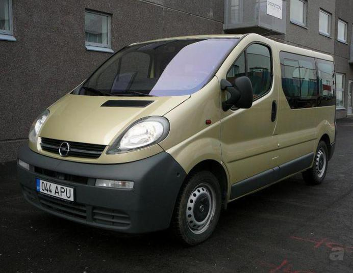 Opel Vivaro Tour models wagon