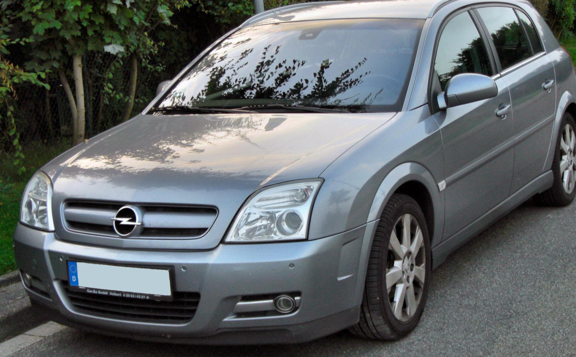 Signum Opel review sedan