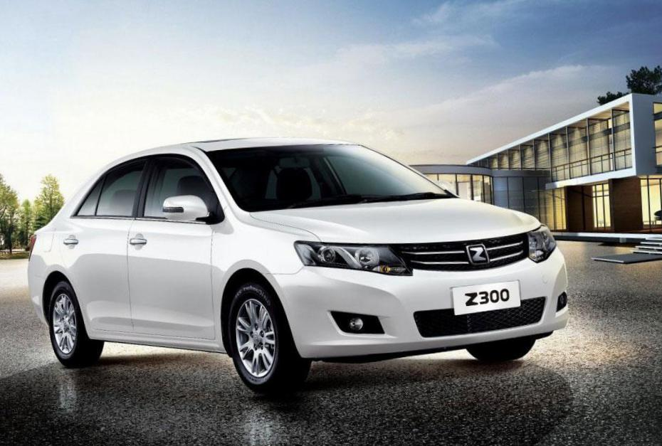 Zotye Z300 Horizons Version spec 2015