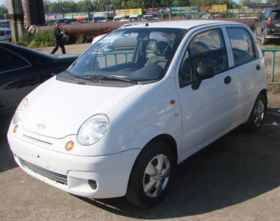 Daewoo Matiz Specifications suv