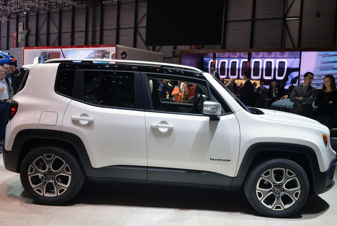 Jeep Renegade approved 2003