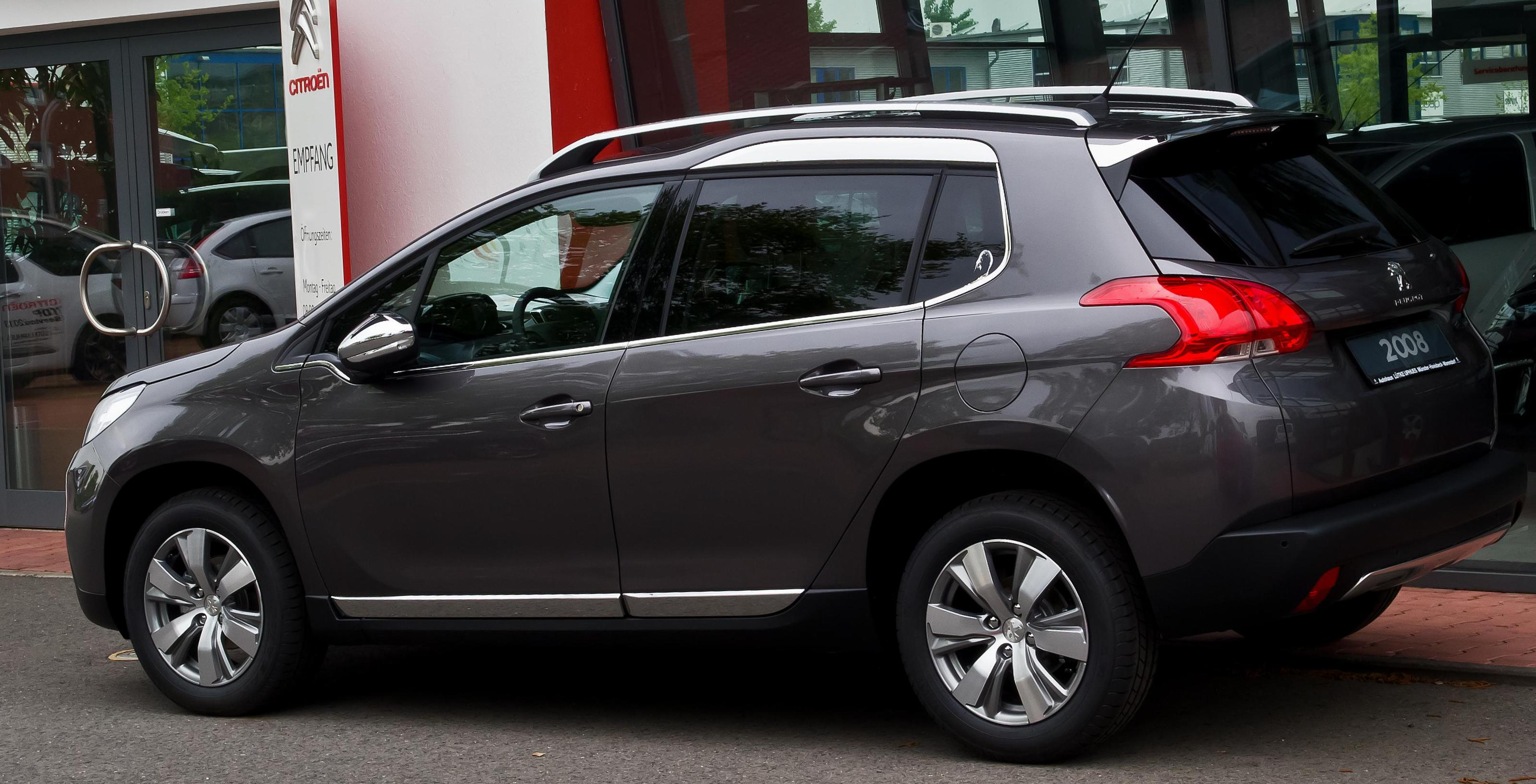 2008 Peugeot how mach suv