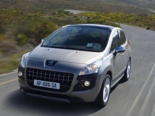 Peugeot 308 5 doors Specification suv