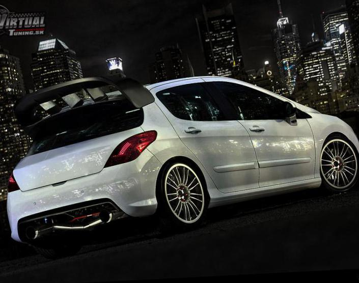 peugeot 308 gti photos and specs. photo: peugeot 308 gti tuning and