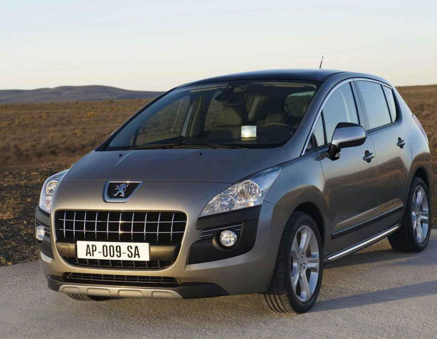 3008 Peugeot Specifications 2013