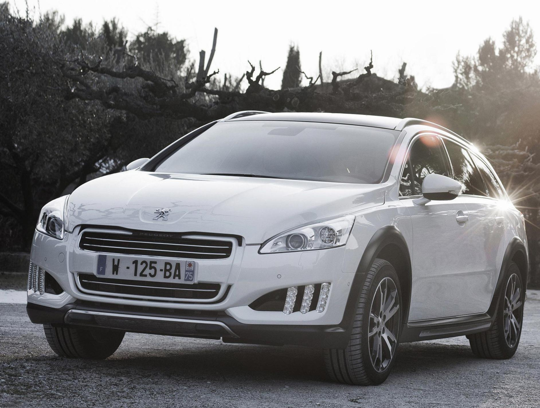 Peugeot 508 Rxh Photos And Specs Photo Peugeot 508 Rxh Models And