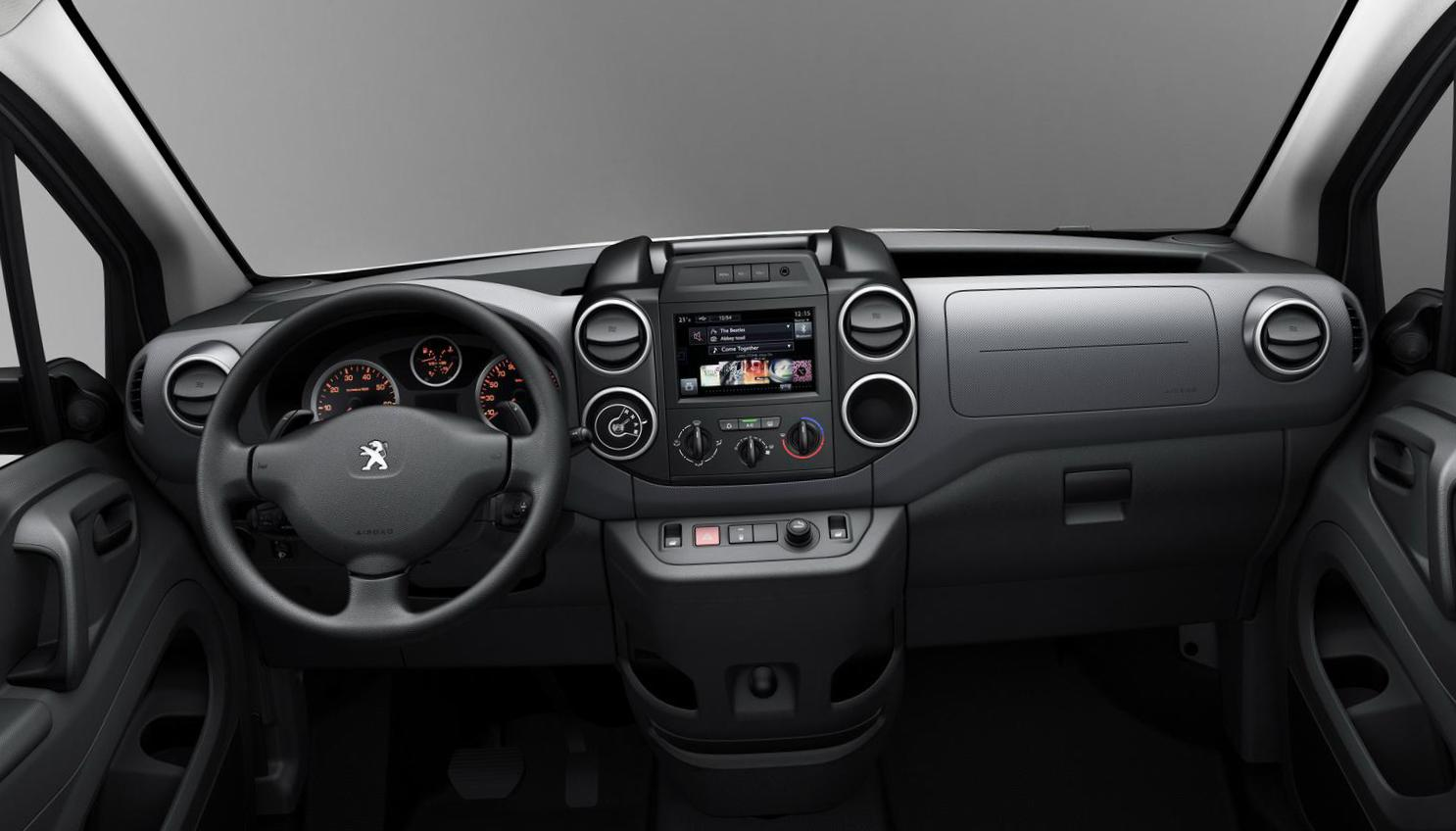 Peugeot Partner Van Specifications 2014