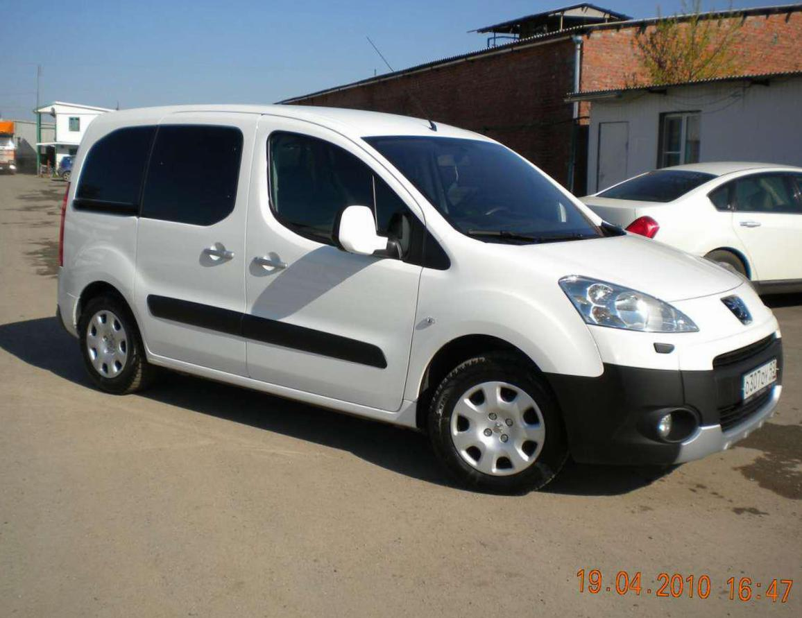 Peugeot Partner Tepee new 2013