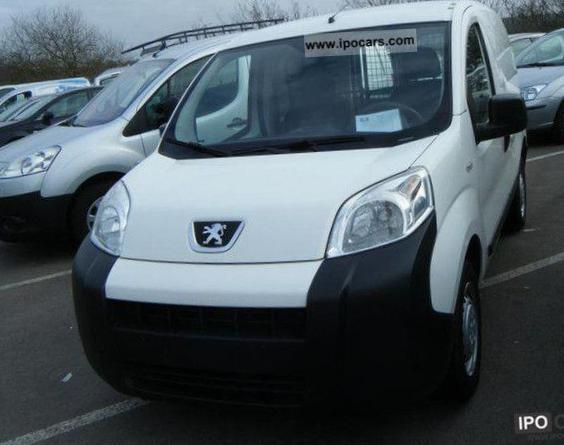 Peugeot Bipper Fourgon Specifications liftback