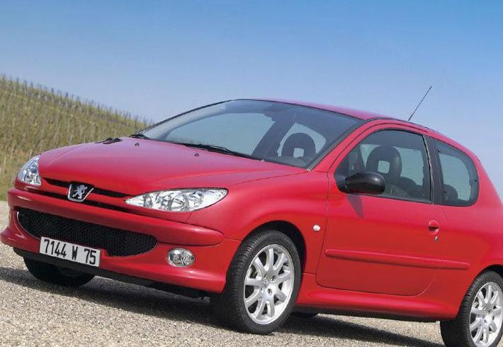 206 3 doors Peugeot reviews 1998
