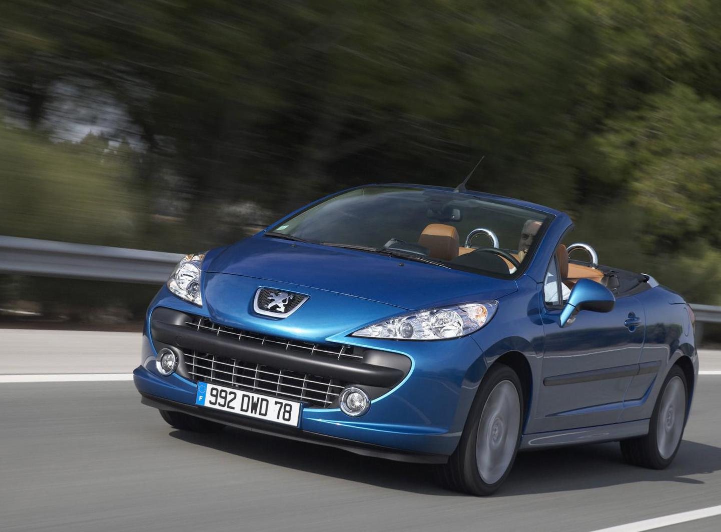 Peugeot 207 CC prices 2014