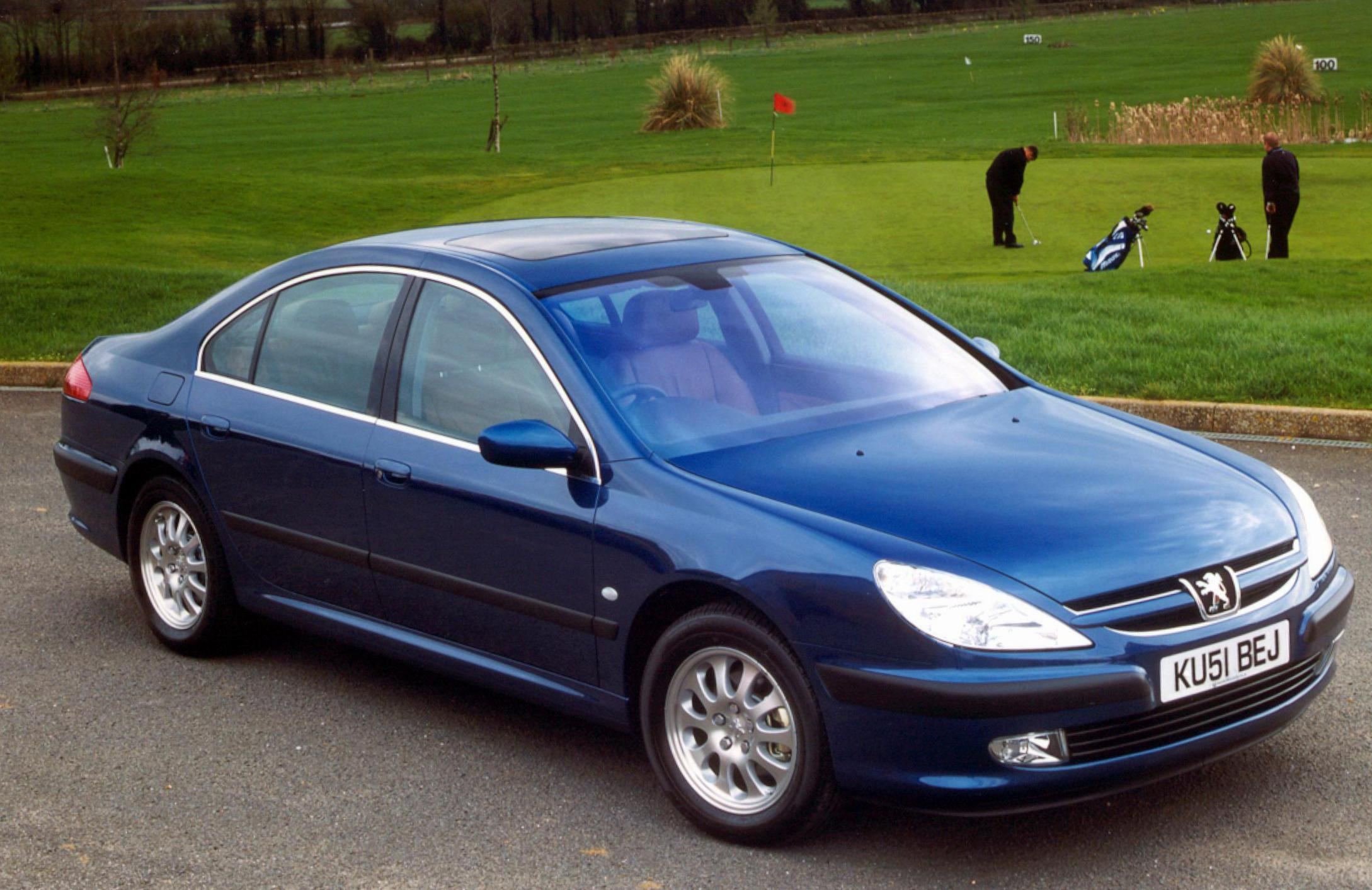 Peugeot 607 Photos and Specs. Photo: 607 Peugeot parts and 23 ...