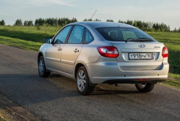 Lada Granta Liftback review 2014