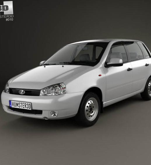 Lada Kalina 1117 model liftback