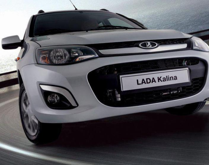 Lada Kalina 1119 model wagon
