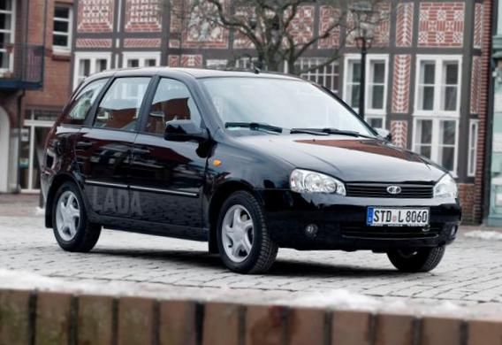Lada Kalina 1119 review 2007