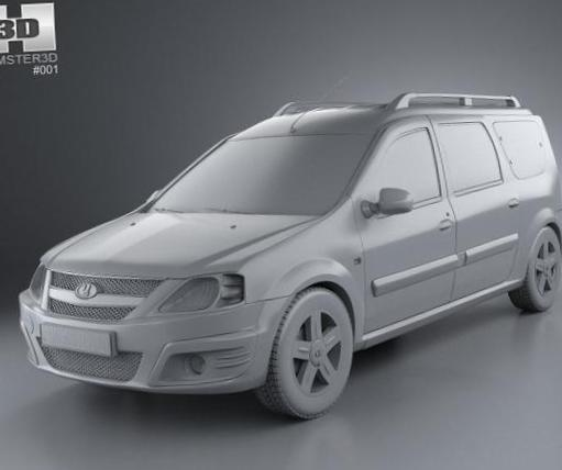 Lada Largus   configuration hatchback