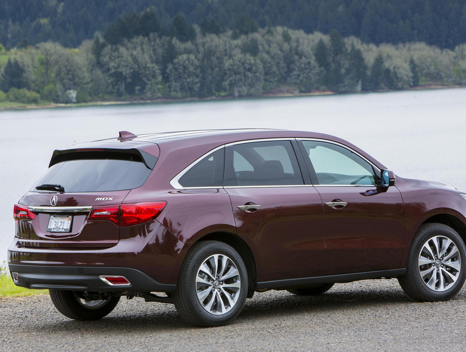 MDX Acura how mach 2013