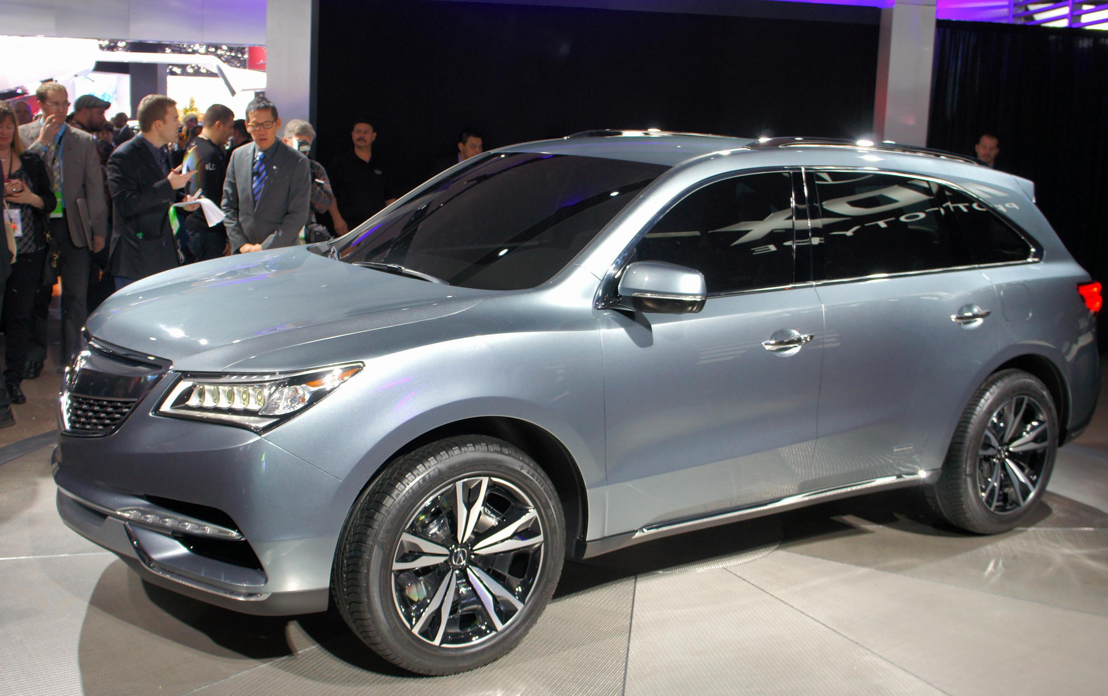 Mdx Acura Tuning Suv