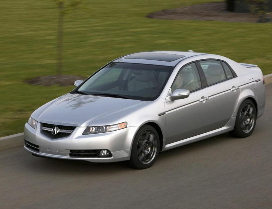 Acura TL prices 2012