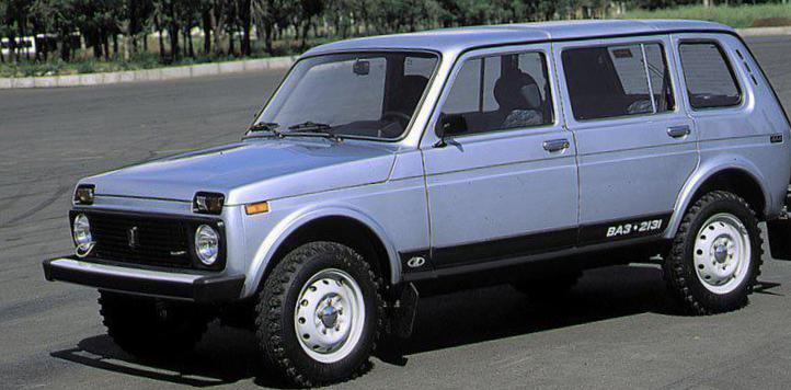 Lada 4x4 5 doors configuration hatchback