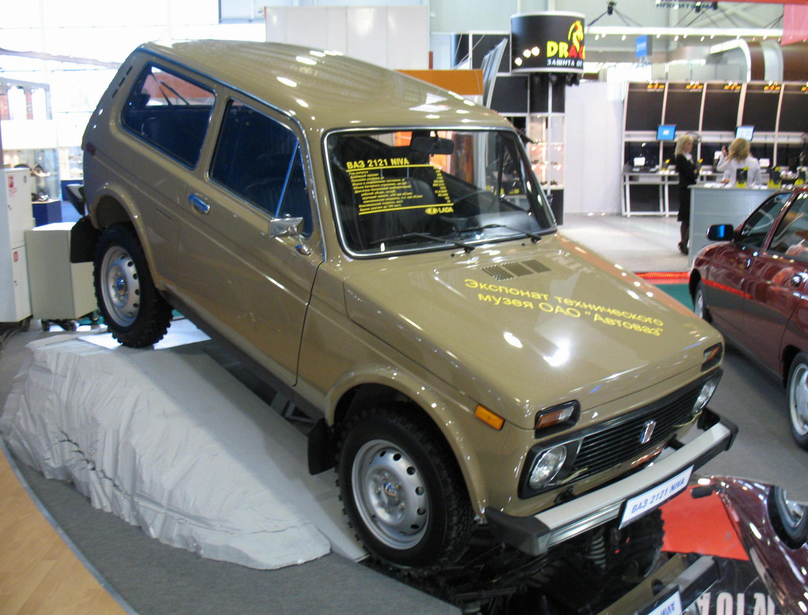 Niva 2121 review liftback