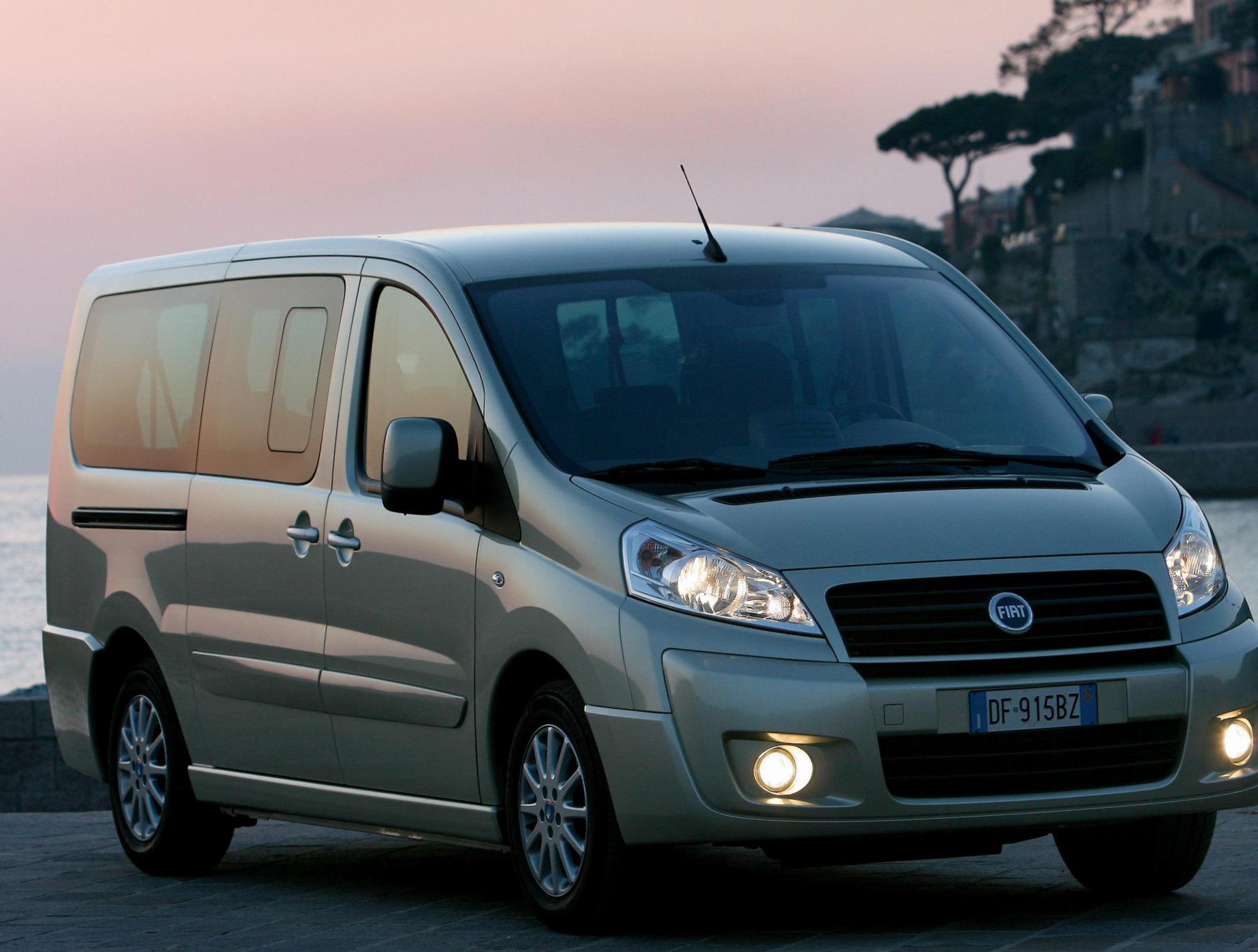 Scudo Panorama Fiat Specification 2010