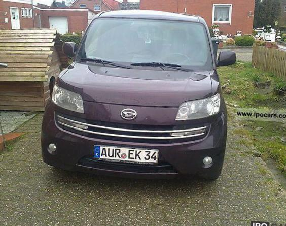 Materia Daihatsu Specification van