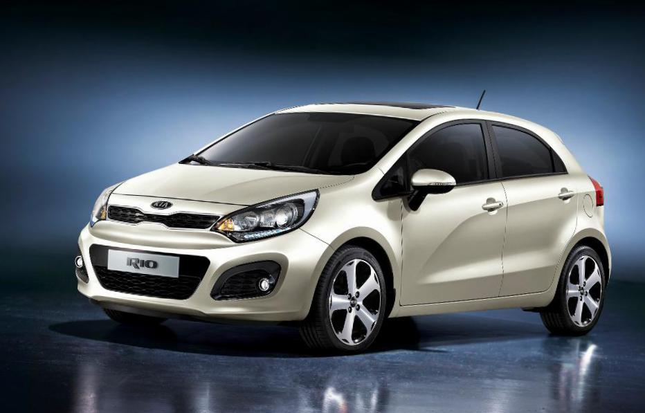 KIA Rio Hatchback Specification minivan
