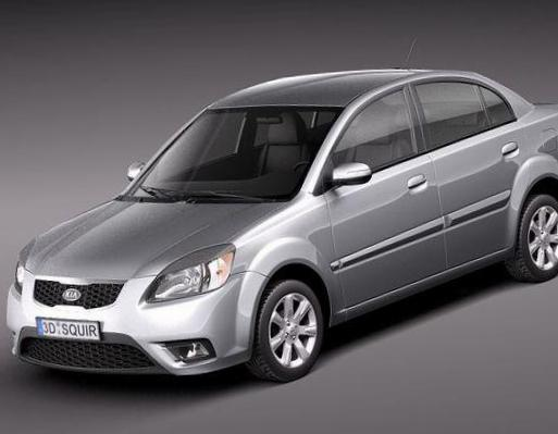 Rio Sedan KIA price 2007