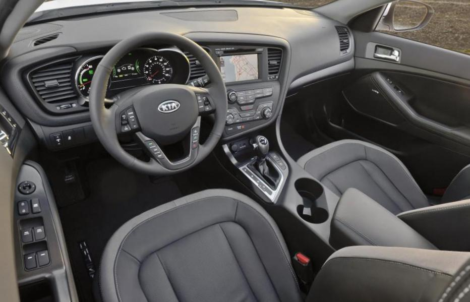 Optima Hybrid KIA review 2010