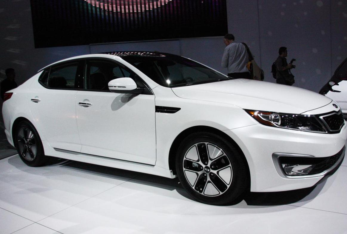 KIA Optima configuration 2010