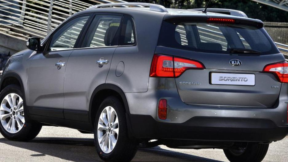 KIA Sorento parts wagon