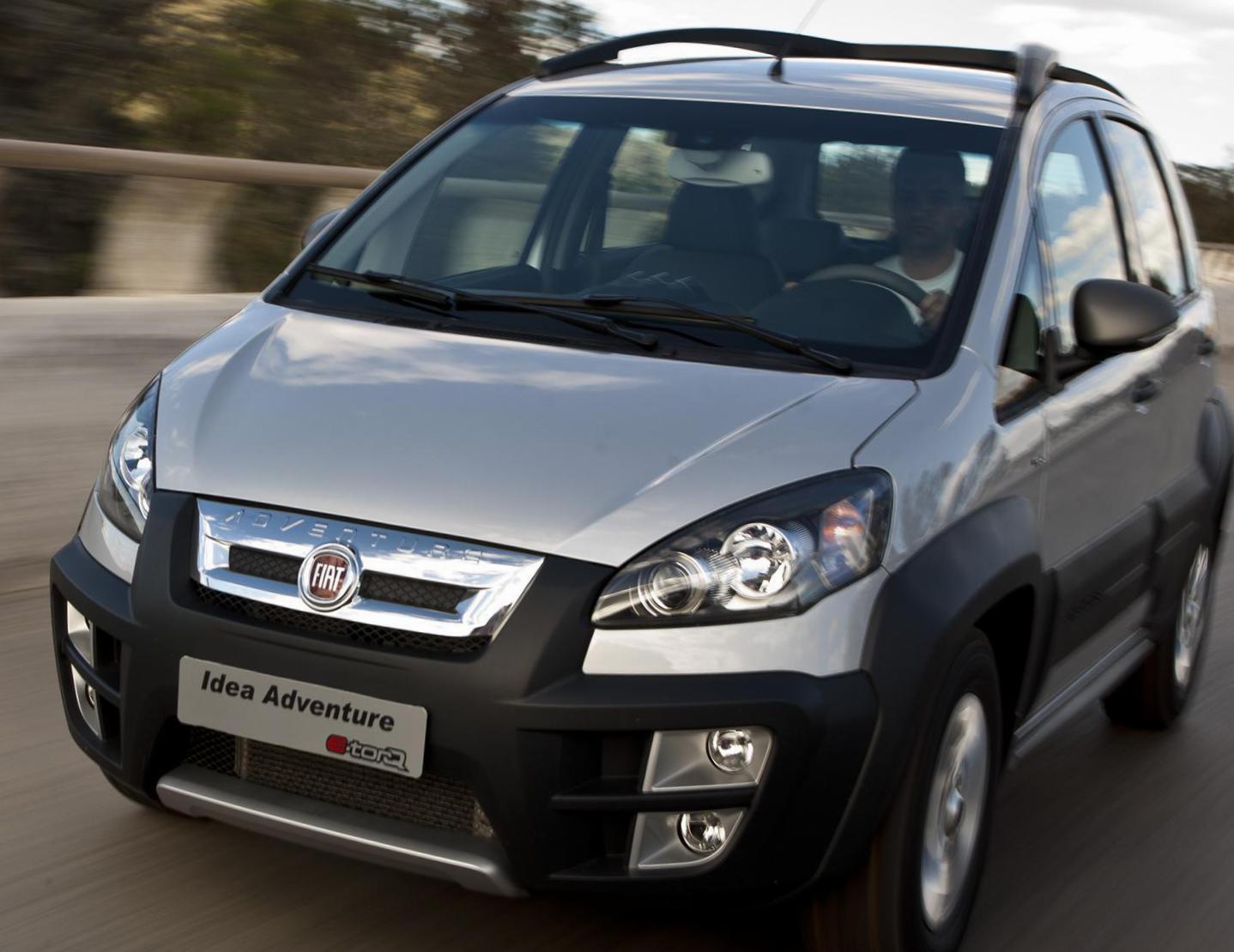 Fiat Idea Adventure Characteristics Van