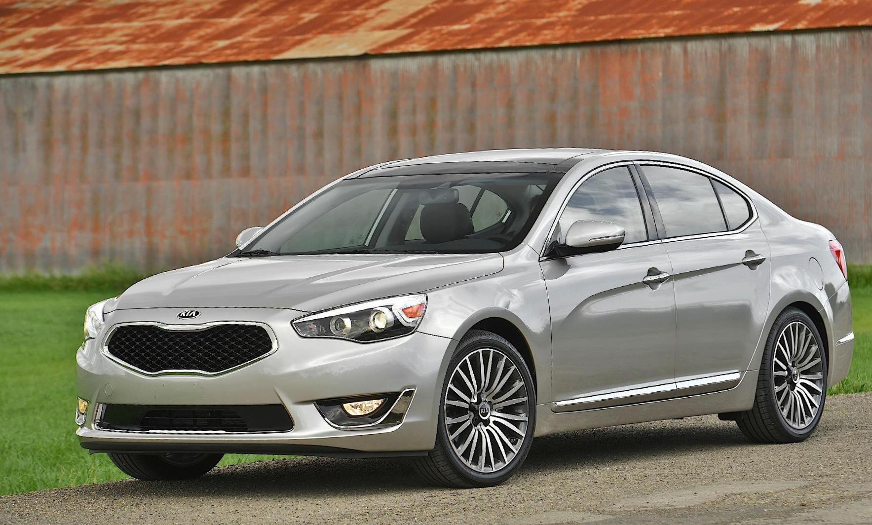 KIA Cadenza prices 2014