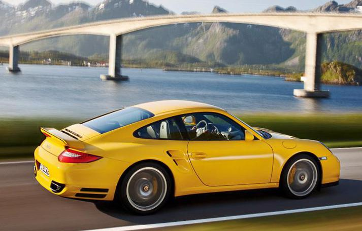 911 Turbo Porsche price 2009