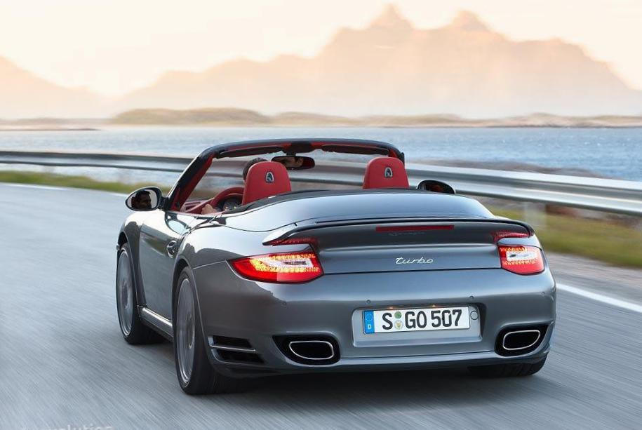 911 Turbo Cabriolet Porsche approved 2008