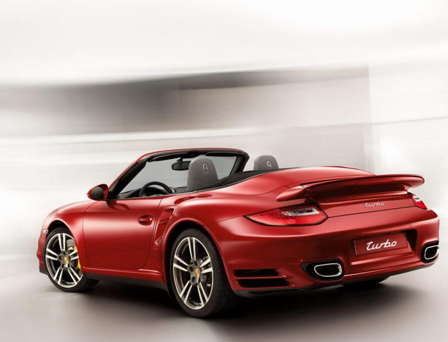 Porsche 911 Turbo Cabriolet how mach wagon