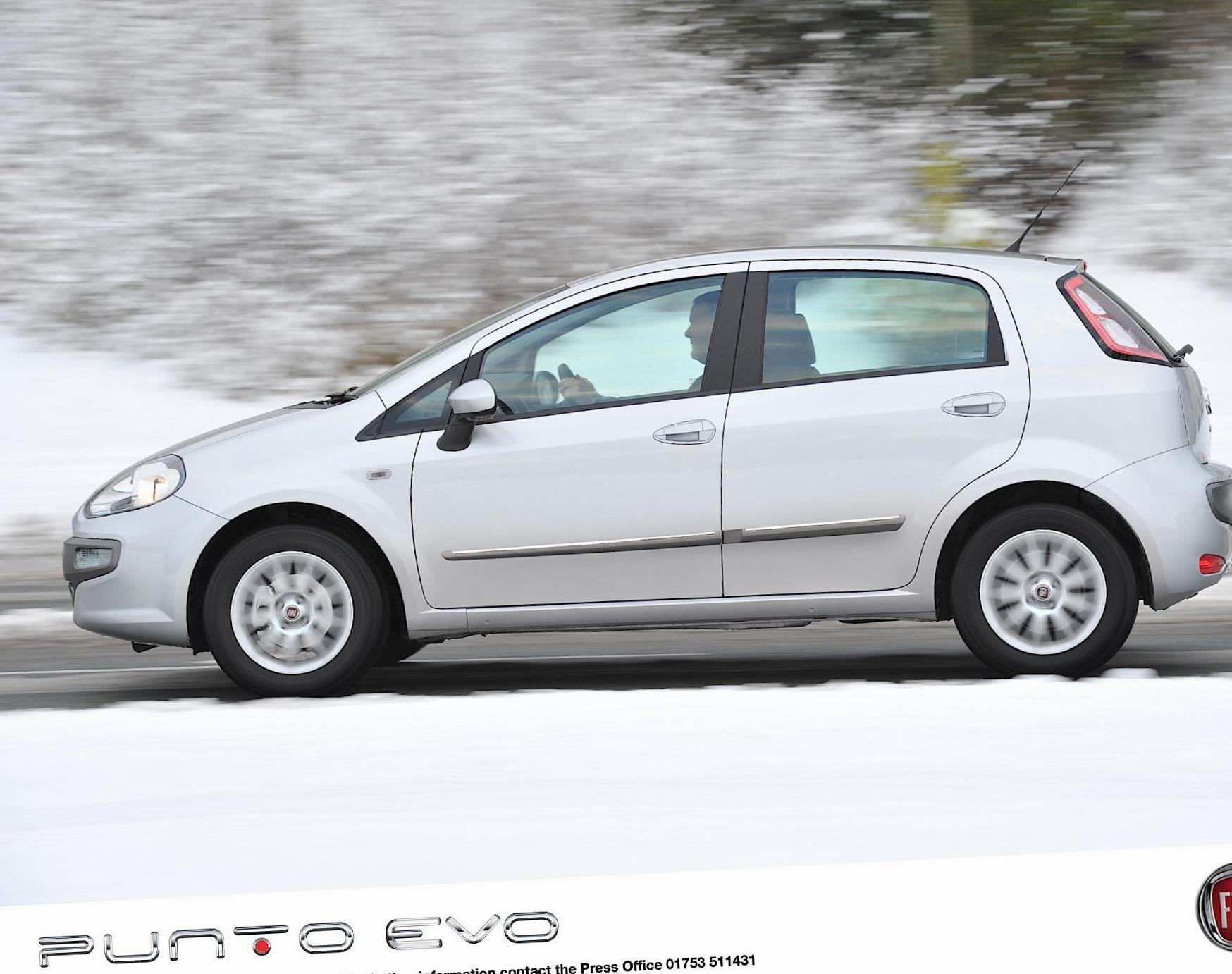 Fiat Punto Evo 5 doors Specifications sedan