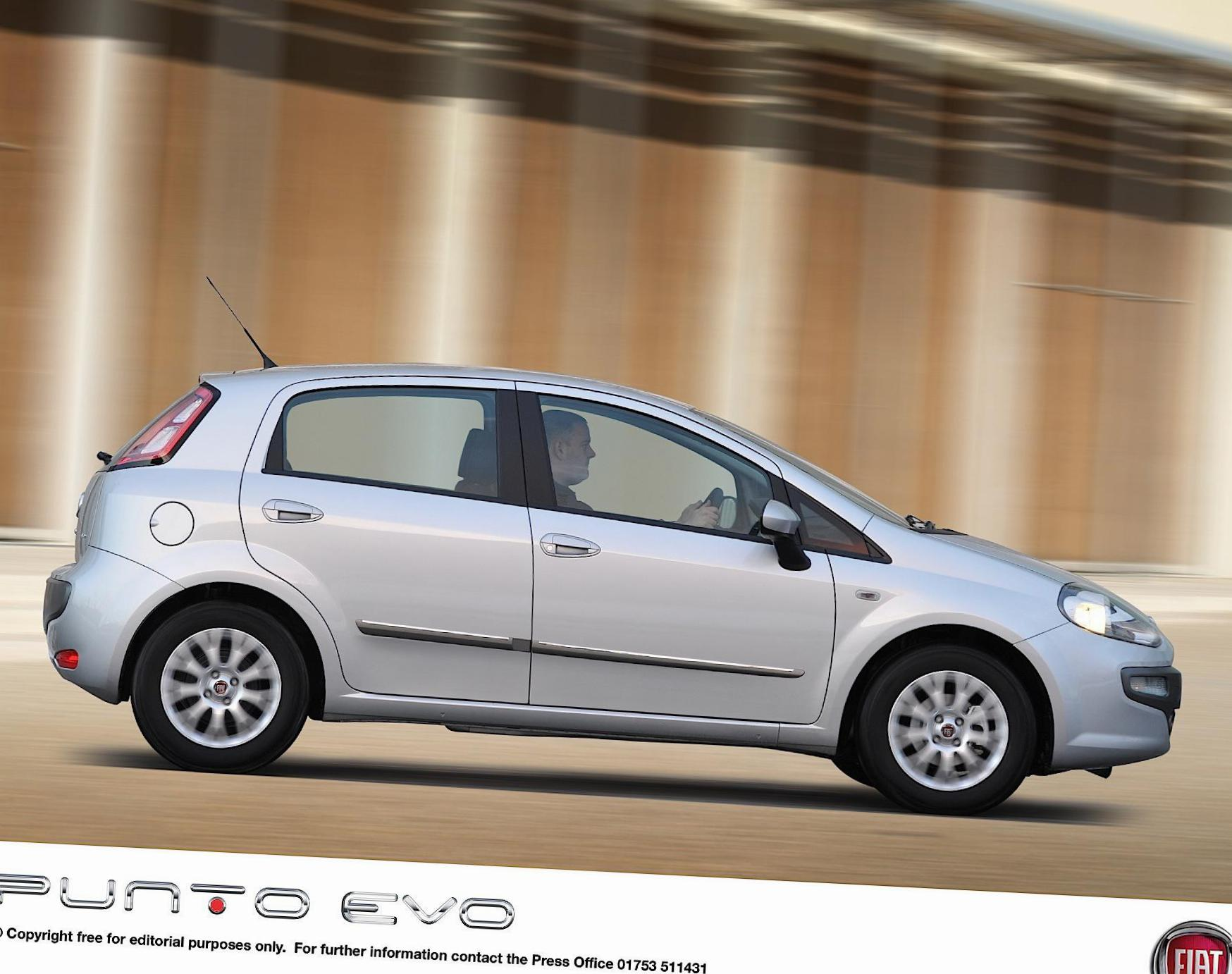 Punto Evo 5 doors Fiat for sale 2015