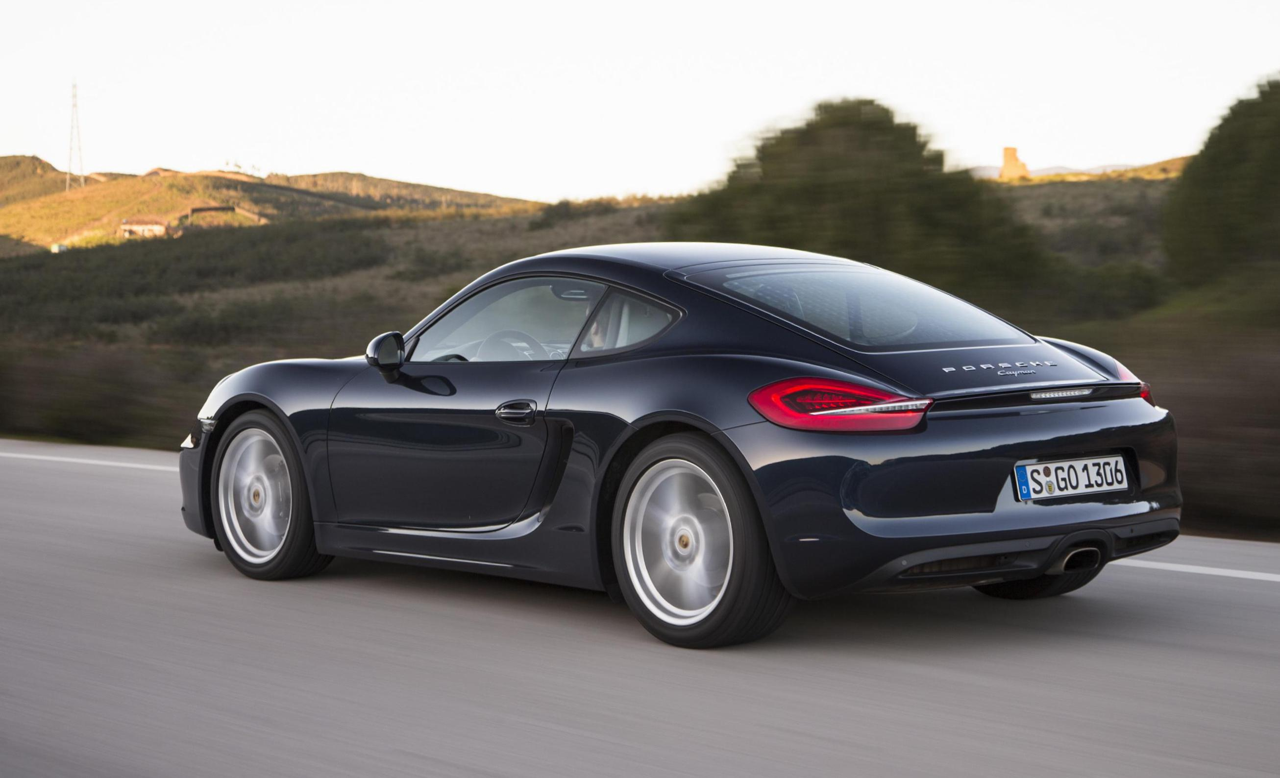 Cayman Porsche Specification 2014